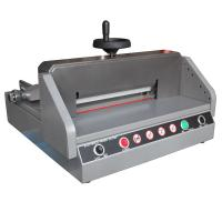 China 330mm Semi Electric Paper Cutter Machine E330D , Paper Cutting Equipment wholesale
