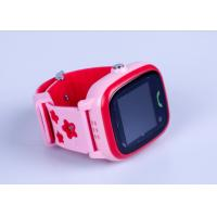 Buy cheap 3 Colors Portable GPS Tracker , Interaction Touch Screen GPS Tracker Watch For Family from wholesalers