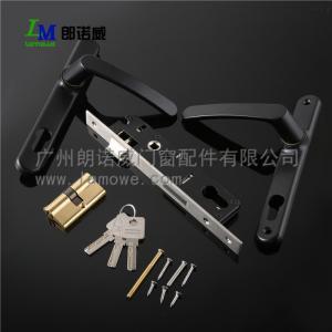 China Aluminum door and window hardware window handle,window lock chrome window crank handle on sale