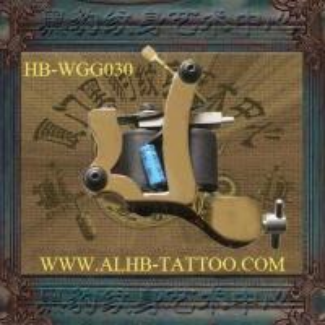 Brass Tattoo Machine