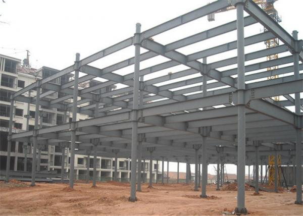 Quality Wind Resistant Light Steel Structure Building For Factory Highly Durability for sale