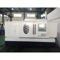 Buy cheap 800mm Swing Diameter Flat Bed CNC Lathe Machine 250mm Sleeve With 11KW Spindle from wholesalers