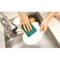 China Strong Decontamination Non Scratch Scouring Pad Elastic For Kitchen Cleaning wholesale