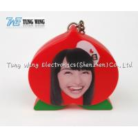 China Portable OEM Funny Music Keychain Red Convenient On / Off Function wholesale
