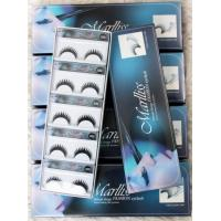 China Professional Strip Synthetic False Eyelashes Natural Looking , Full Handmade wholesale
