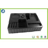 China 2.0mm Black Blister Packaging Tray Compartment For Electronic Packaging wholesale