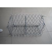 China Wire Tension Resistance Hexagonal Wire Netting Gabion Baskets 80X100 Mm Aperture wholesale
