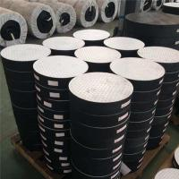 China high quality competitive Plain and laminated elastomeric rubber bridge bearings 165mm diameter on sale