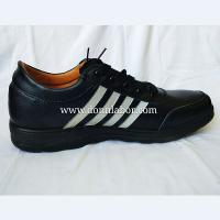 China PU Leather Upper Electrial Resistant Footwear Leather Safety Shoes wholesale