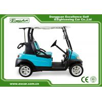 China 48V Electric Golf Car With Aluminum Chassis 2 Person Special Disc Brake on sale