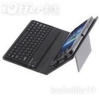 China PU Samsung Galaxy Tab Leather Case with Bluetooth Keyboard 10.1 Case plus Solar Charger wholesale