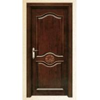 China luxury solid wooden interior door, standard size and non-standard size on sale