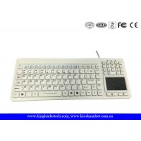 China Unfoldable Waterproof Silicone Keyboard With Mouse Touchpad And Full Keys wholesale