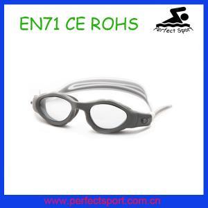 China 2015 New Adult silicone swim goggle wholesale