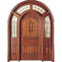 China China painting wooden door for interior furniture Wooden grain modern exterior sliding glass doors made in China wholesale