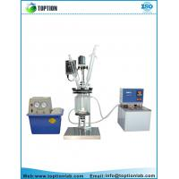 China Double layer glass reactor high borosilicate glass material Jacketed reactor wholesale