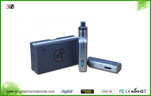 Quality 18500 18650 Battery Variable Voltage E Cig SS Mechanical Mod 4.0V - 8.3V for sale