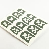 Grey Halloween printing Nail Art Stencils Full Cover Type