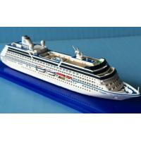 China Oceania Insignia Cruise Ship Large Scale Model Ships on sale