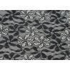 Shrink-Resistant Elastic Lace Fabric ,90% Nylon 10% Spandex Fabric CY-LW0795