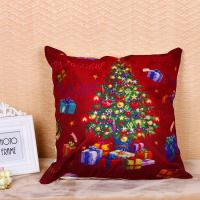 Festival Decoration Pillow Cushion Covers Square Shape With Printed Christmas