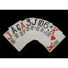 China Plastic PVC Waterproof Casino Standard Playing Cards Custom Offset Printing wholesale