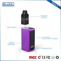 Nano C 510 Mini E Cigarette Box Mod Vape / Vaporizer Kits Top Airflow Control
