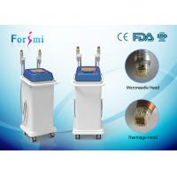 China auto needle delivery tech copper gilded micro needling 5MHz fractional rf thermage device wholesale