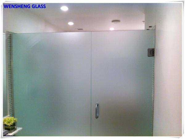10mm Thick Laminated Frosted Glass Images