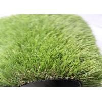 China Healthy Stable Outdoor Artificial Grass Carpet , Fake Grass Outdoor Rug wholesale