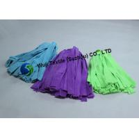 China Foodservice Cleaning String Microfiber Mop Head Replacement Spinning Purle Blue on sale