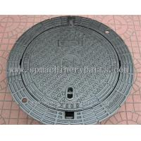 China High Quality Iron Cast Lockable Hinged Manhole Covers Make In China wholesale