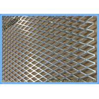 China Flattened Heavy Duty Expanded Metal Mesh 4x8 Mild Steel Sheet For Flooring wholesale