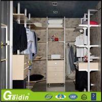 China Modern household laminate walk in wardrobe pole system for bedroom wholesale