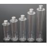 China Plastic PET 200/250/280/350/400ml Round Shape Transparent Color Bottle For Cosmetic wholesale
