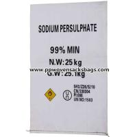 China Professional Anti-corrosion PP Woven Bags Sacks for Packing Sodium Persulfate wholesale