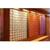 China Customized Hard Density Fiberboard Colorful Gemetric Patterns Leather Surface wholesale