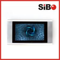 On Wall Aluminum Shell POE 7inch Touch Screen for Conference Room