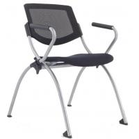 China Office School Mesh Training Chair Stacking folding chair wholesale