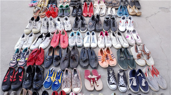 Boys / Girls BULK Cheap Used Shoes Wholesale Bales In USA or China Brand