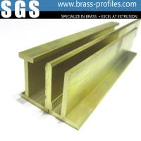 Glossy Copper Extruded Series Brass Extruding Door and Window Frames