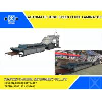 Buy cheap Automatic High Speed Flute Laminator Corrugated Cardboard Carton Making box from wholesalers