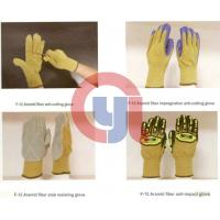 China Customized Color Anti Cut Gloves Aramid Materials For Rescue And Relief Work wholesale
