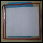 Color PVC File Holder Shop Tickets Holder PVC Holder,paper holder. 13x10 inches