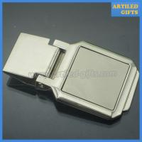 China High quality blank silver money clip as business promotion gifts on sale