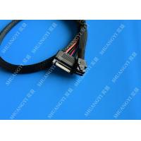 Quality SFF 8643 to U.2 SFF 8639 Cable with 15 Pin SATA Power Connector for Workstations Servers for sale