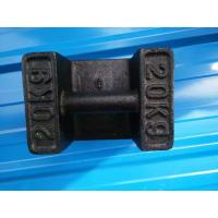 China Cast Iron Test Weights Weighing Scale Parts 10kg 20kg 25kg 100kg 500 Kg 1000kg wholesale