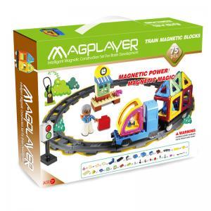 Buy cheap Do trem magnético da construção de Magnetix dos brinquedos/telhas brinquedos ajustados educacionais prées-escolar from wholesalers