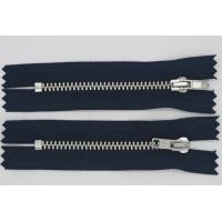 China Personalized Pulls Heavy Duty Parka Zippers , Reversible 7 Inch Separating Zipper wholesale