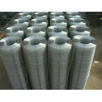 China 1 /2 Inch Electro Galvanized Welded Steel Wire Mesh With 15 - 30m Mesh Length wholesale